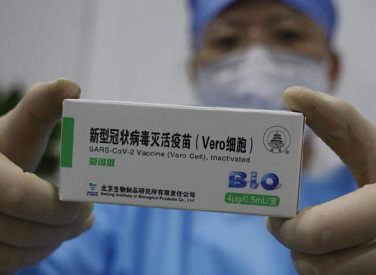 Llegaron a las provincias las dosis de Sinopharm y se inicia la vacunación a docentes