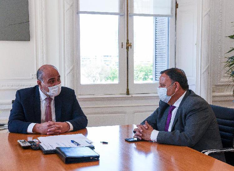 Quintela se reunió con Juan Manzur y firmó convenio por 45 millones de pesos